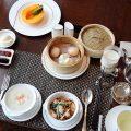 ザ・ペニンシュラ東京で朝食を 2017年10月中華粥と点心の朝