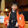 健斗君、五歳