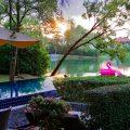 バンヤンツリー・プーケット 早起きは三文の徳、サンクチュアリー・オブ・ウェルビーイング・エクスピアレンス体験取材中